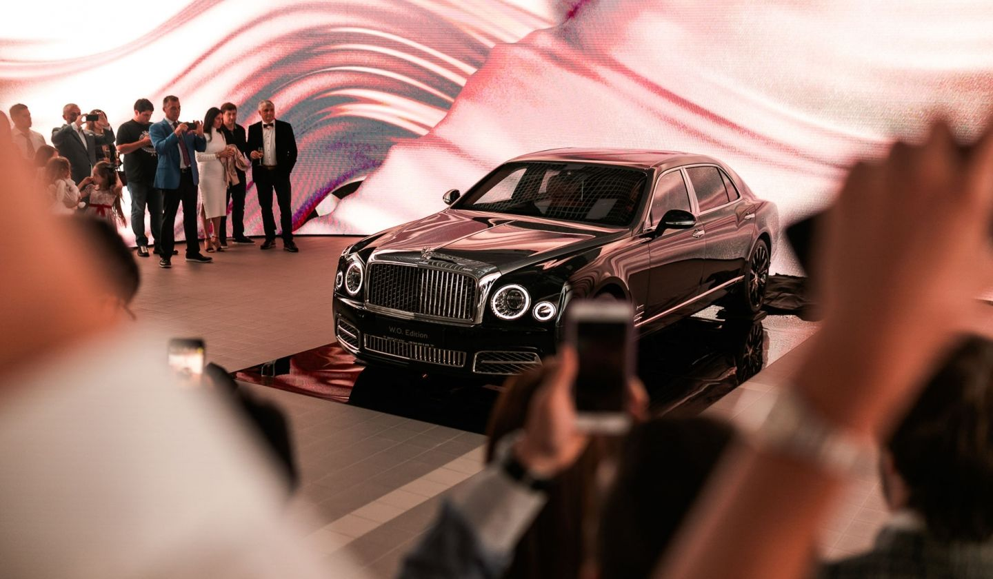 Mulsanne W.O. Edition by Mulliner