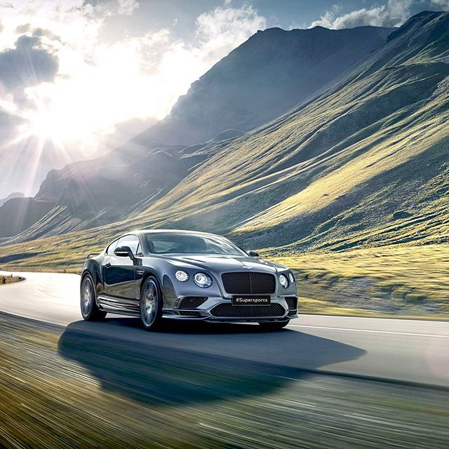 Bentley Continental Supersports - найшвидше у світі чотиримісне авто. #BentleyKyiv #Winnerautomotive #Bentley