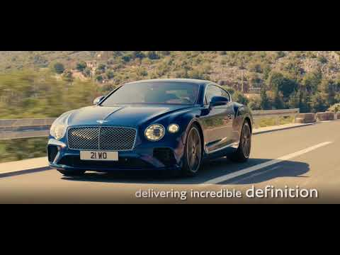 New Continental GT. The Design